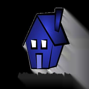 blue house AdHouse logo